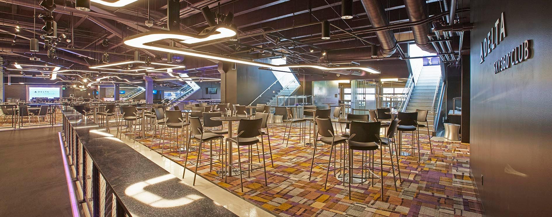 Delta Sky Club US Bank Stadium - Us bank stadium concessions map