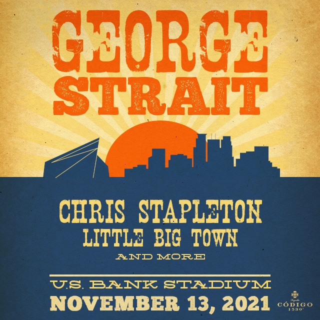 GEORGE STRAIT ANNOUNCES NEW DATE FOR POSTPONED MINNEAPOLIS STADIUM SHOW
