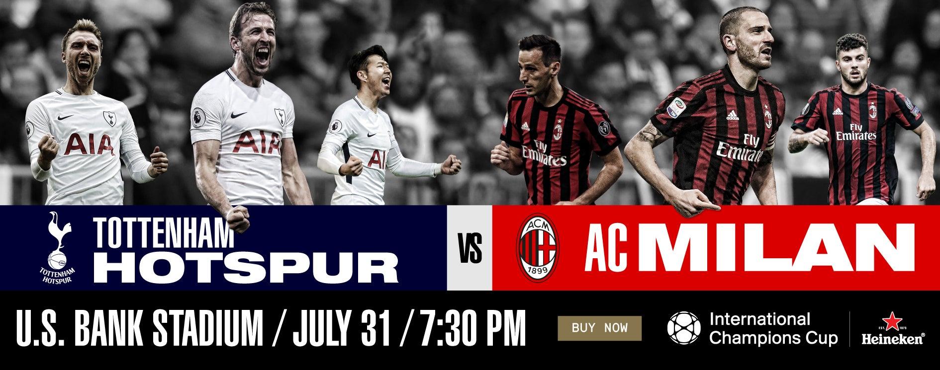 Tottenham Hotspur v Milan International_Champions_Cup 2018