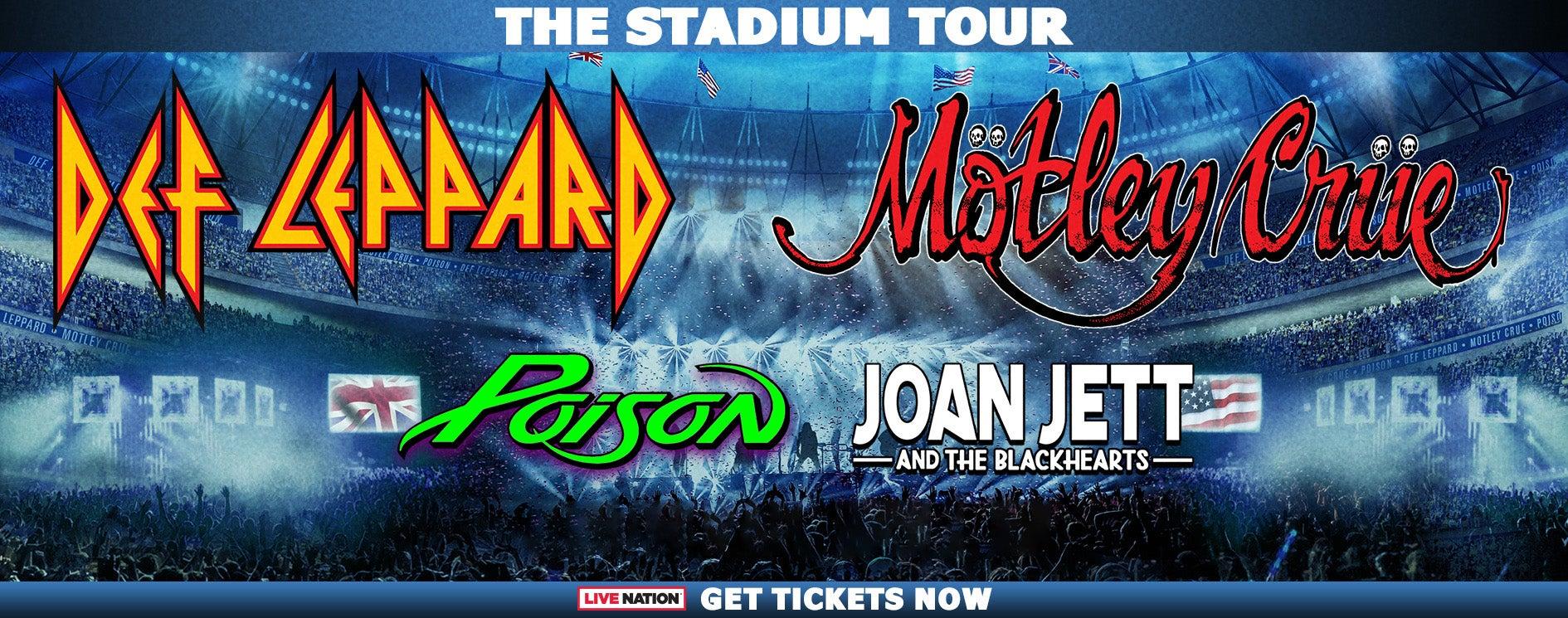 Def Leppard + Motley Crue - The Stadium Tour