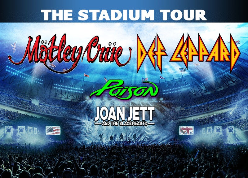 More Info for Mötley Crüe, Def Leppard, Poison, Joan Jett & The Blackhearts Add Dates