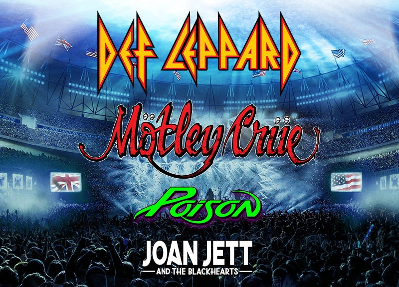More Info for Def Leppard + Motley Crue - The Stadium Tour - RESCHEDULED
