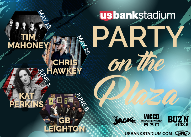 More Info for Party on the Plaza Announced for U.S. Bank Stadium beginning Thursday, May 18.