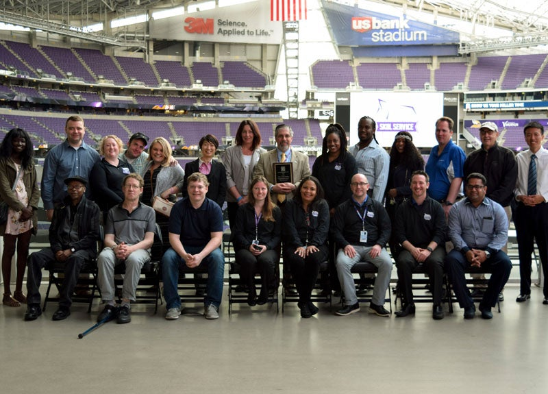 "More Info for SMG and U.S. Bank Stadium Receive 2016 Placement Partners ""Employer of the Year"" Award"