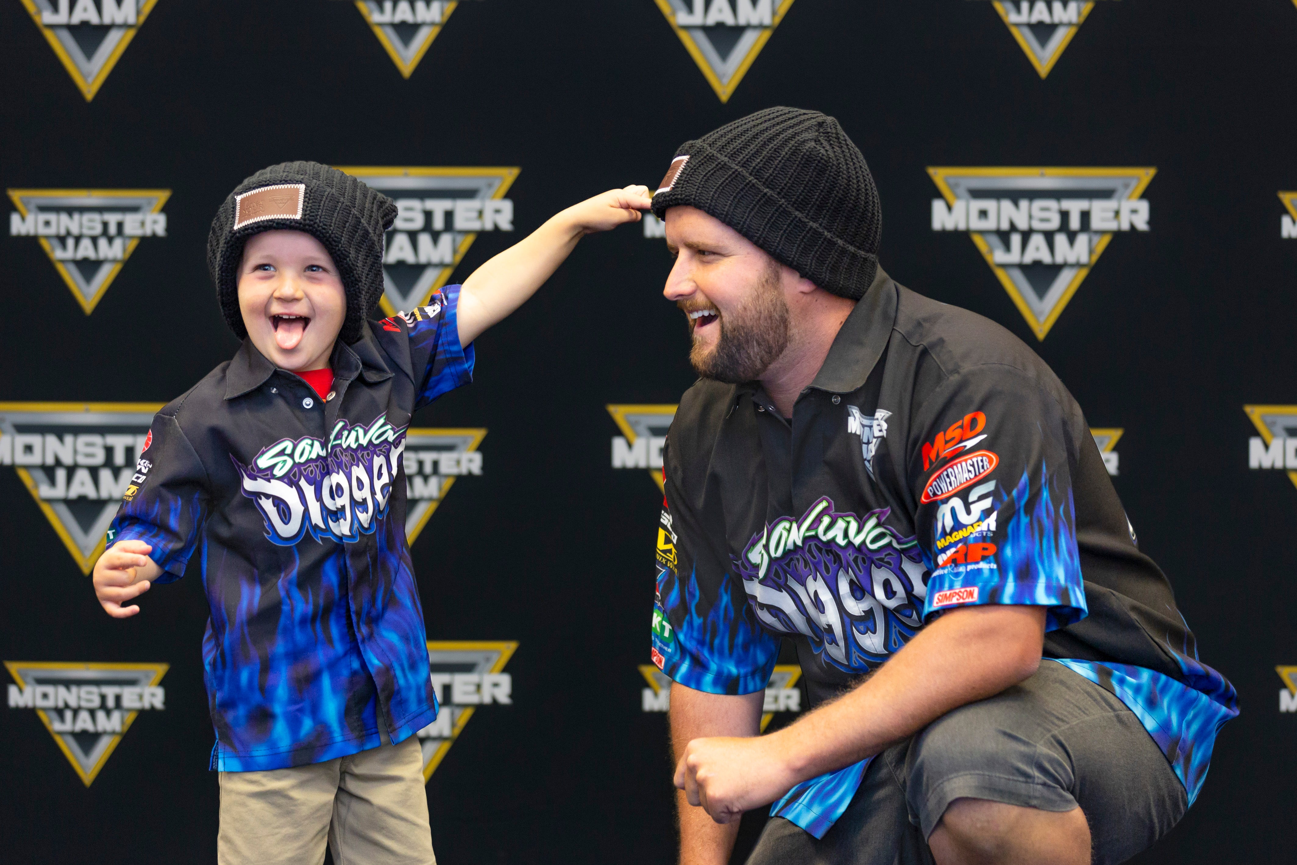 1a47afb750622 MONSTER JAM® Announces Partnership To Fight Pediatric Cancer With ...
