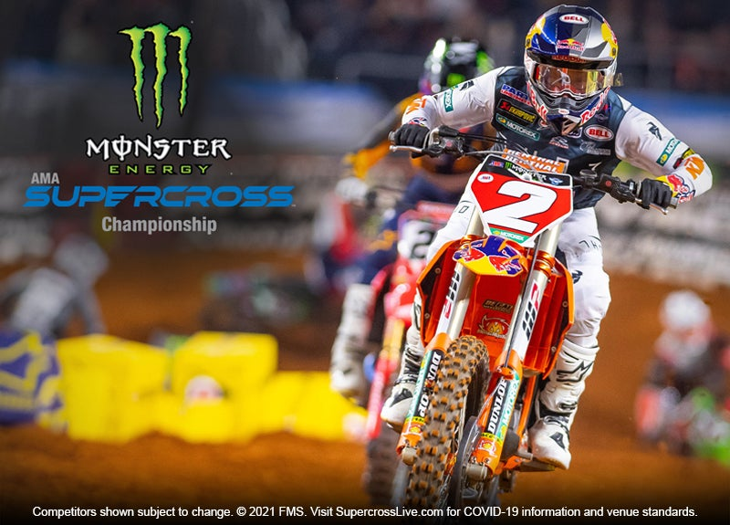 More Info for Monster Energy Supercross 2022 Season Tickets on Sale Today  for Minneapolis Race on February 19  After Three-Year Hiatus at U.S. Bank Stadium