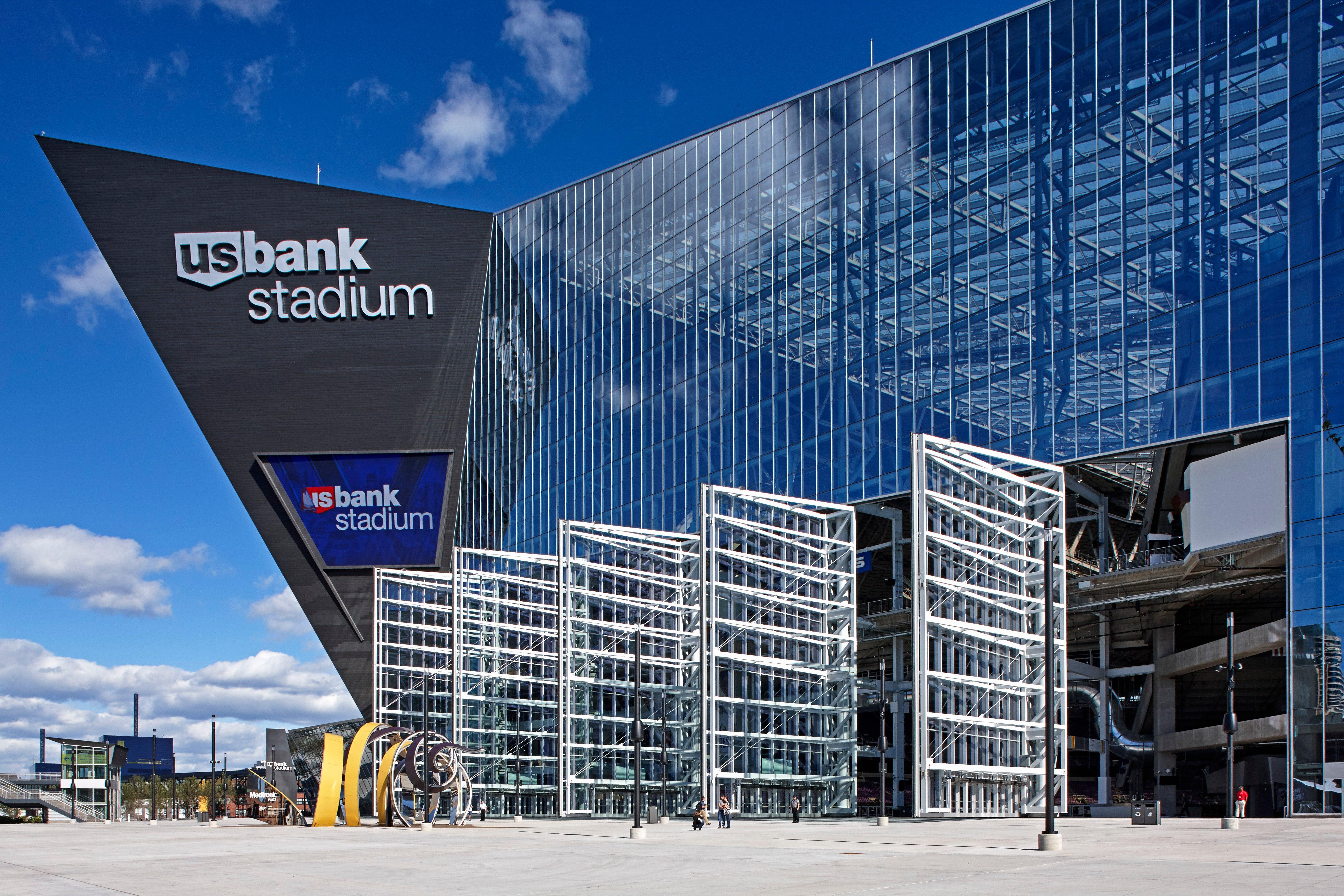 Exterior: U.S. Bank Stadium