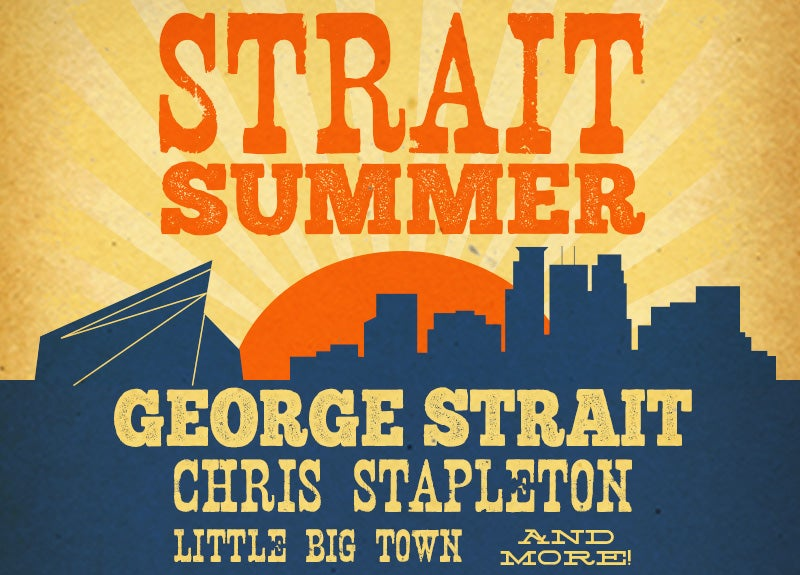More Info for George Strait Heads to U.S. Bank Stadium August 22