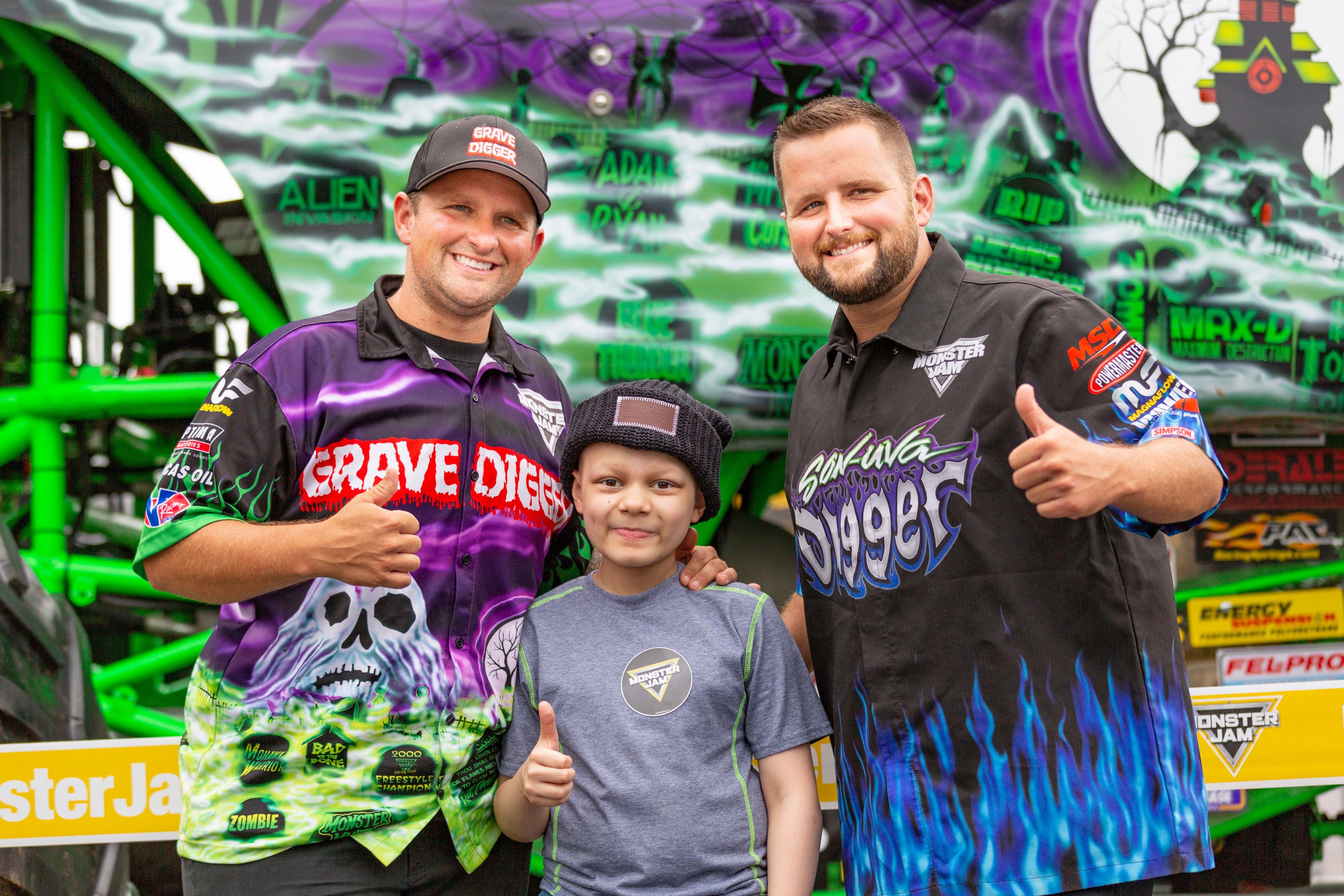 7832d186c8e35 MONSTER JAM® Announces Partnership To Fight Pediatric Cancer With  Minneapolis-based Love Your Melon