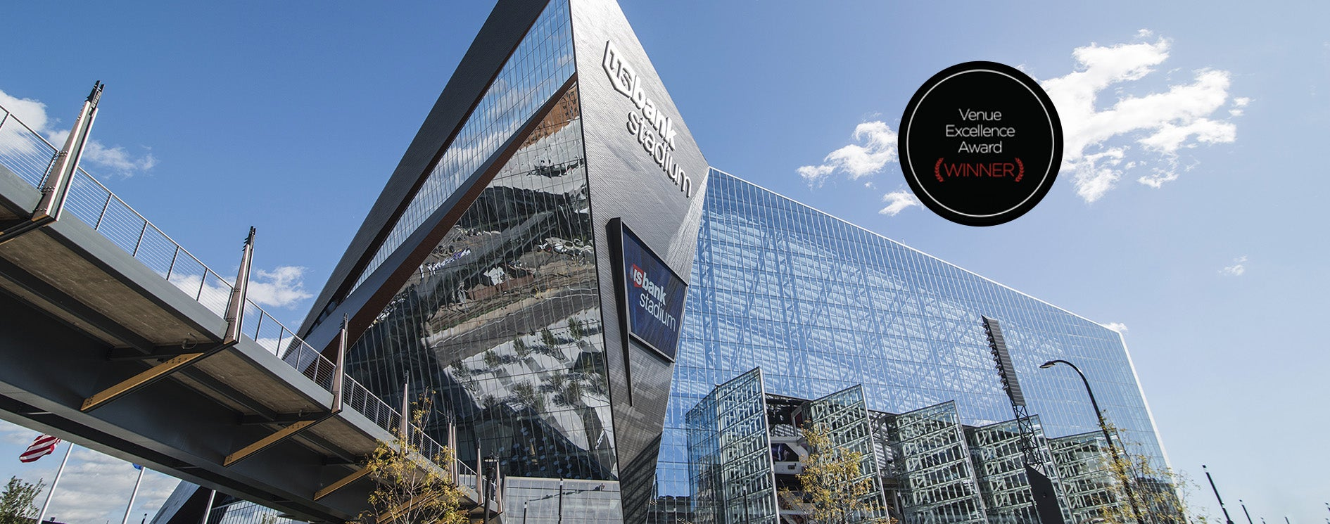 More Info for U.S. Bank Stadium Recognized with the 2019 Venue Excellence Award