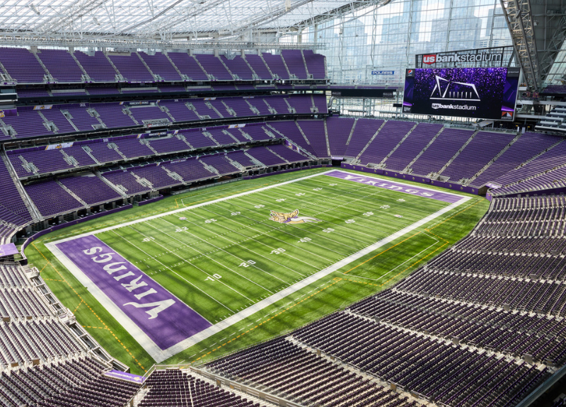U.S. BANK STADIUM CELEBRATES FIFTH ANNIVERSARY  AND THE WELCOMED RETURN OF EVENTS