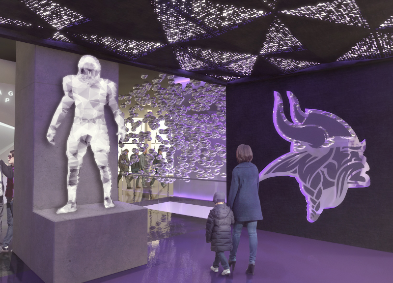 "More Info for Minnesota Vikings Unveil Interactive ""Vikings Voyage"" For U.S. Bank Stadium"